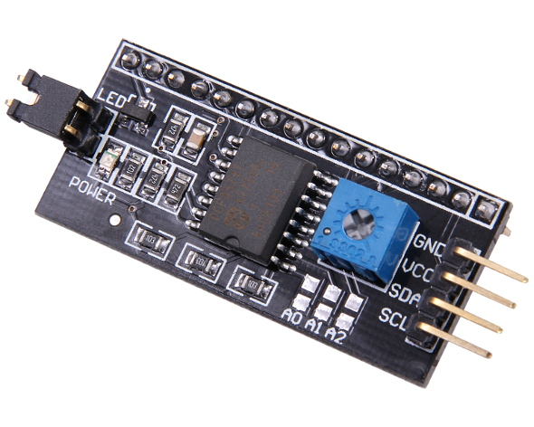 Écran lcd IIC//I2C interface série adaptateur board 1602 2004 cristal flux Workshop