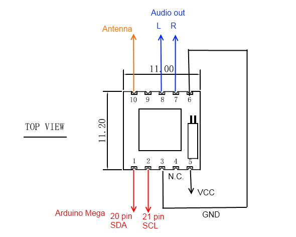 module r u00e9cepteur fm tea5767 radio programmable low
