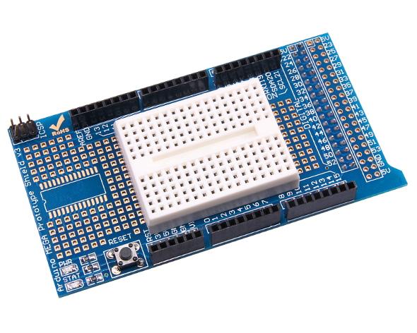 MEGA2560 UNO Prototype With Mini Shield ProtoShield V3 Breadboard For Arduino