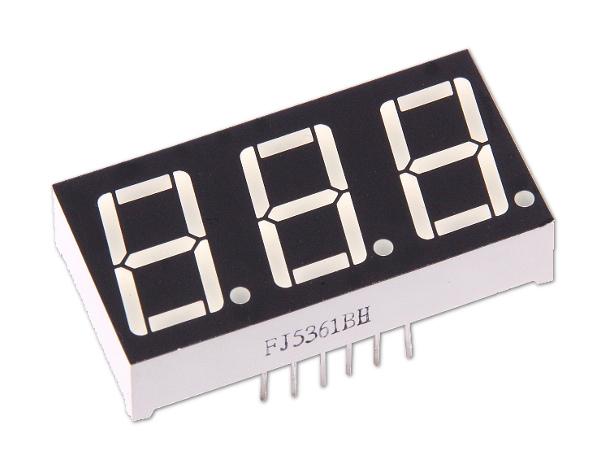 """4-stellige 0.56/"""" Anzeige Anode Rot 7-Segment Sieben Common LED Display Arduino"""