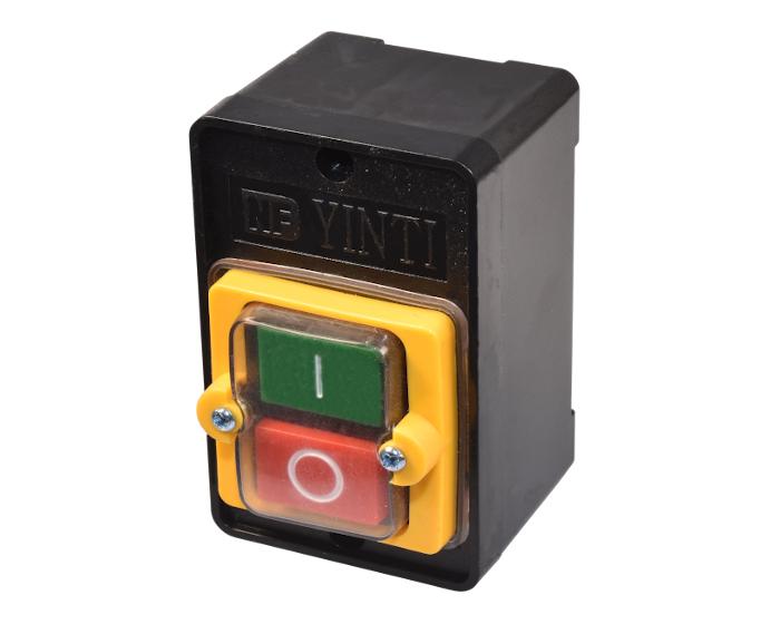 Taiss//Druckschalter Wasserdicht Ein//Aus Start Stop 10A AC 380V Druckschalter KAO-10KH
